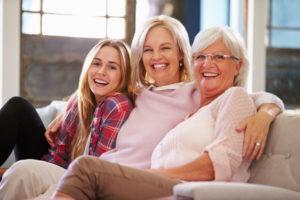 Frauen in jedem Lebensalter