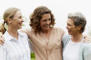 Frauen zwischen 40 und 60